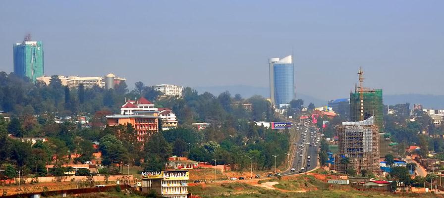 Kigali City Skyline