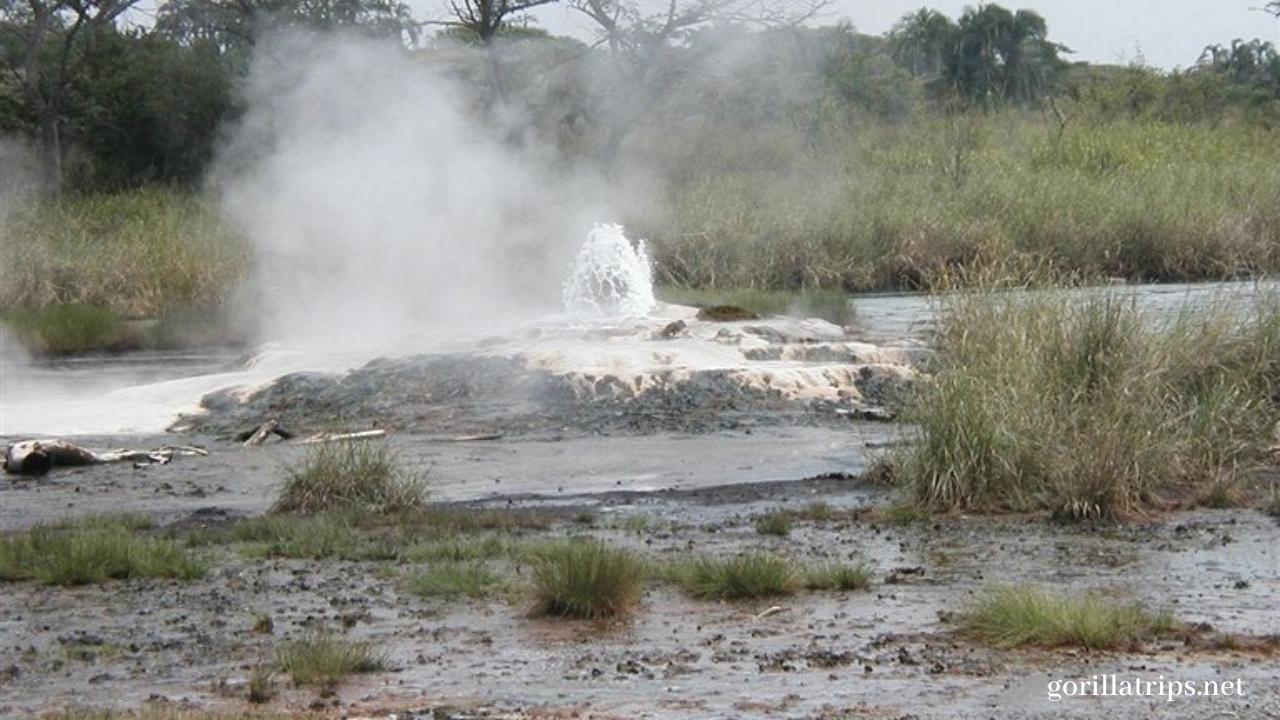 Amoropii Hot Springs in Uganda