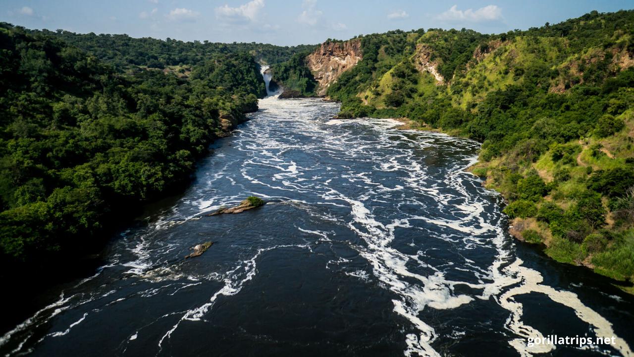 Jinja River in Uganda