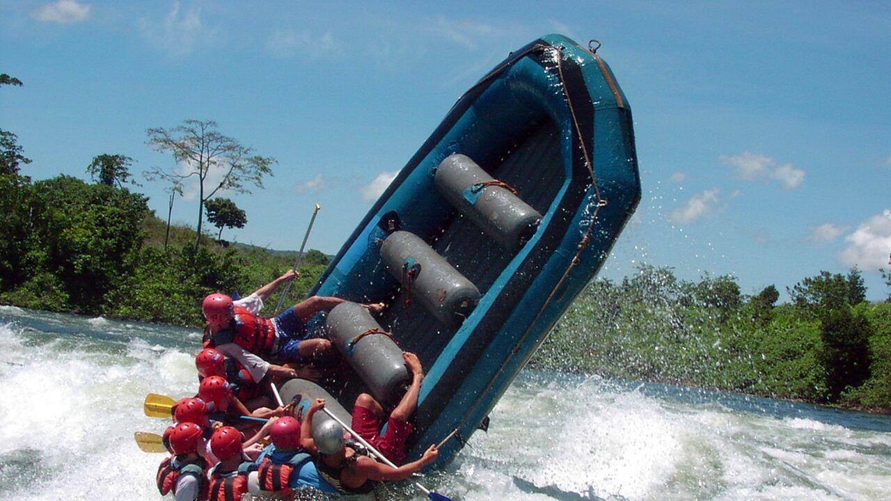 Safety during White Water Rafting Uganda