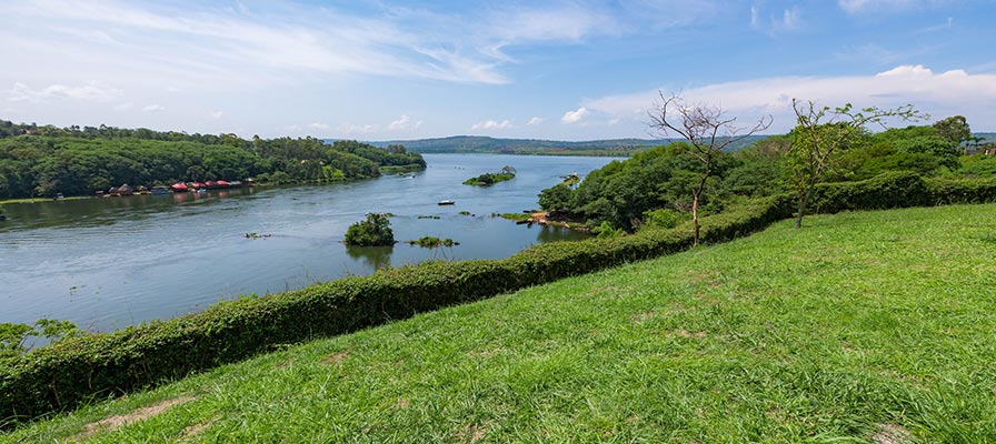 source of the Nile in Jinja