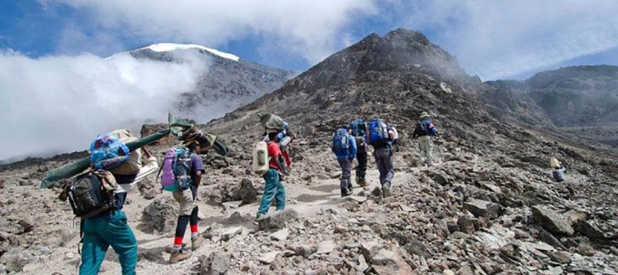 10 Days Climb Via Lemosho Route