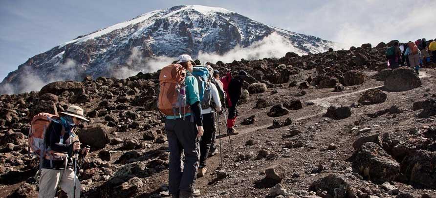 9 Days Climb Via Machame Route