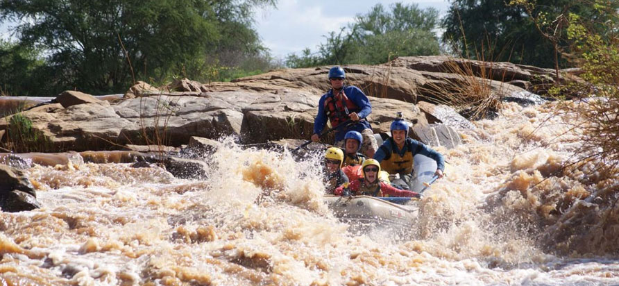 Kenya River Rafting