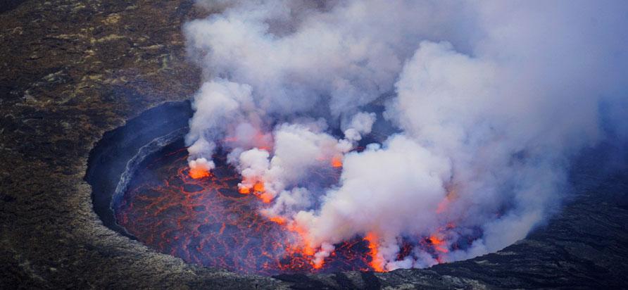 Nyiragongo Volcano Hike
